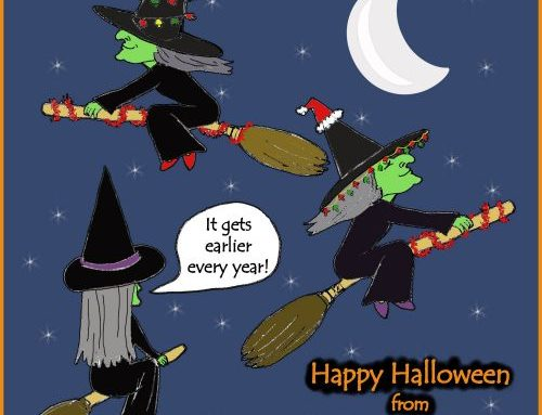 Happy Halloween from Caricatures by Carmel