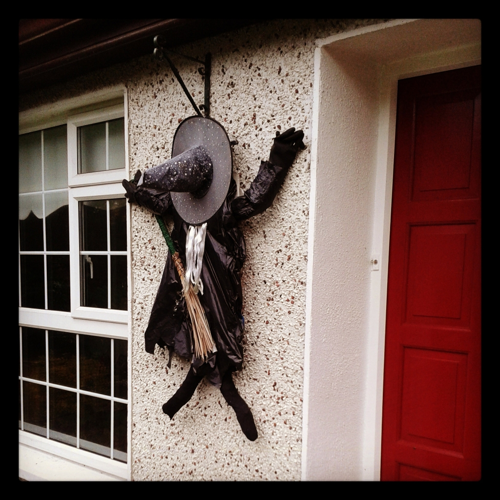Homemade Witch Decoration