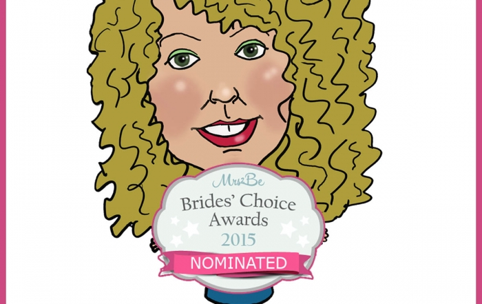 Caricatures by Carmel Mrs2Be Brides Choice Award Nomination