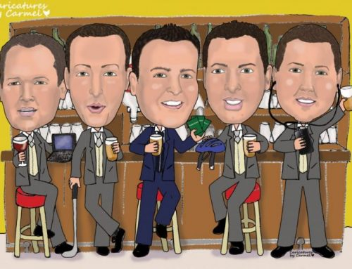 Caricature Gifts for the Wedding Party