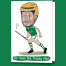Limerick hurling greeting caricature card